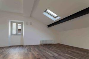 Interior nice loft, wide empty room